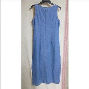 Sweet Jesse Dresses - Sweet Jessie Blue Denim Dress Size Petite M
